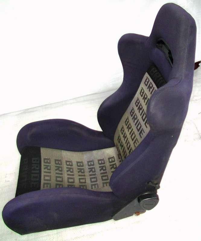 Bride Brix recliner/semi bucket seat