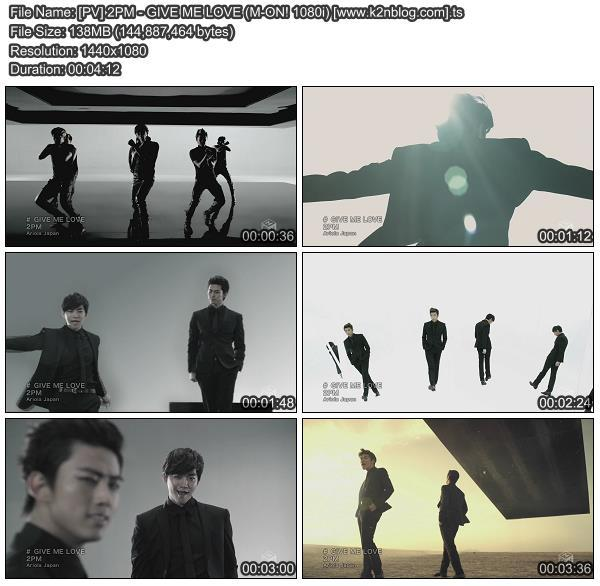 [PV] 2PM - GIVE ME LOVE [M-ON! HD 1080i]