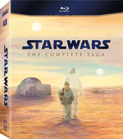 Žvaigždžių karai. Pilna istorija / Star Wars. The Complete Saga (1977-2005) [BDRip LT] Fantastika, nuotykiai, kosmosas