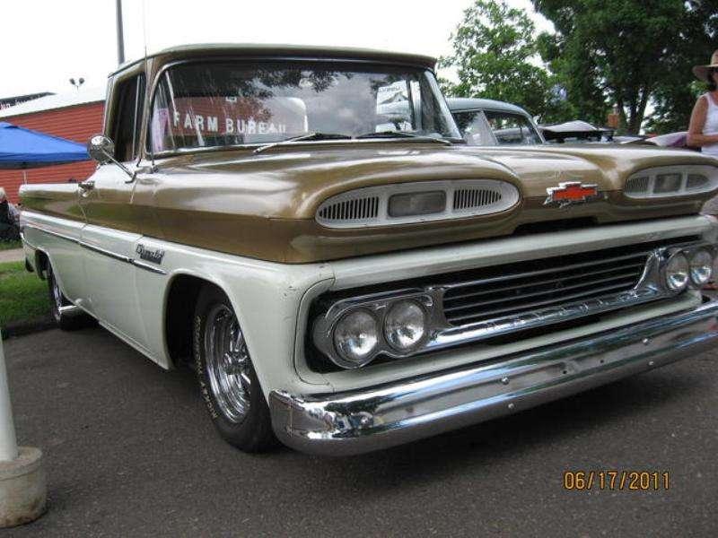 60-61 Chevy Truck Hood
