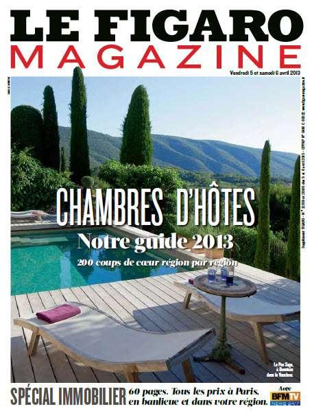 Le Figaro Magazine - Vendredi 6 et Samedi 7 Avril 2013