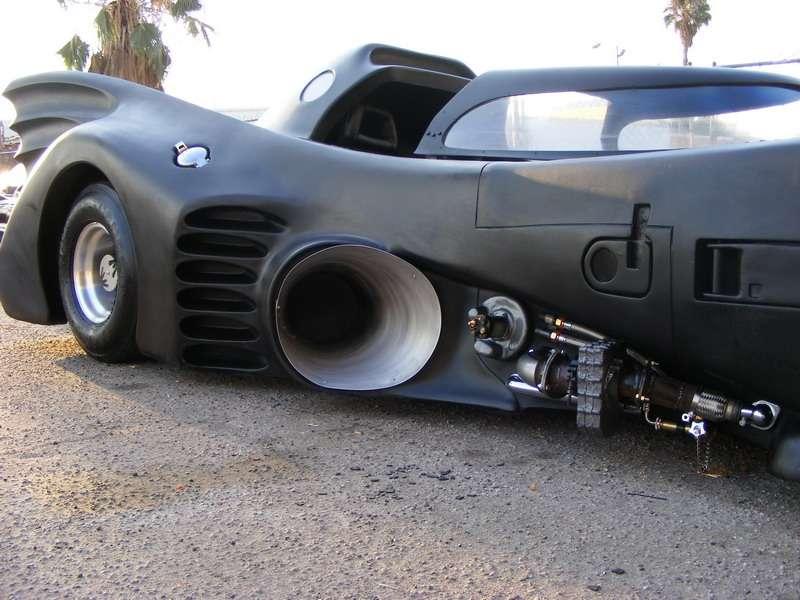The Batmobile - Michael Keaton Version | AUTOCAR REGENERATION