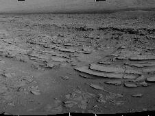 The NASA Mars rover Curiosity used its<br /> Navigation Camera (Navcam) during the<br /> mission&#39;s 120th Martian day, or sol<br /> (Dec. 7, 2012), to record the seven images<br /> combined into this panoramic view.<br /> Image credit: NASA/JPL-Caltech <br /> <a href='http://www.nasa.gov/mission_pages/msl/multimedia/pia16459.html' class='bbc_url' title='External link' rel='nofollow external'>� Full image and caption</a><br /> <a href='http://www.nasa.gov/mission_pages/msl/multimedia/pia16552.html' class='bbc_url' title='External link' rel='nofollow external'>� Stereo view</a>