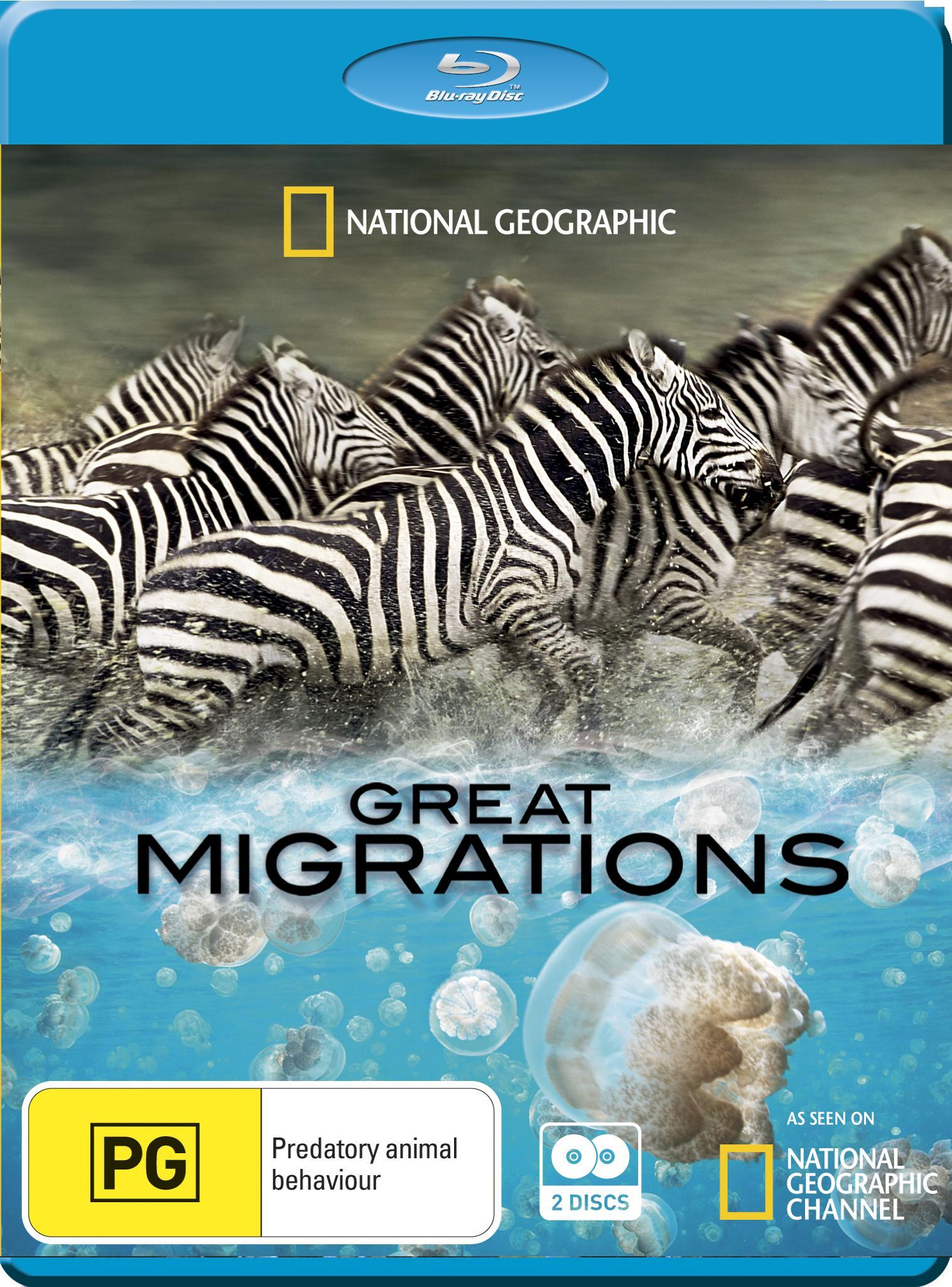 National Geographic - Buyuk Gocler - Great Migrations BRRIP 480p XviD AC3 TRDUB-BDR
